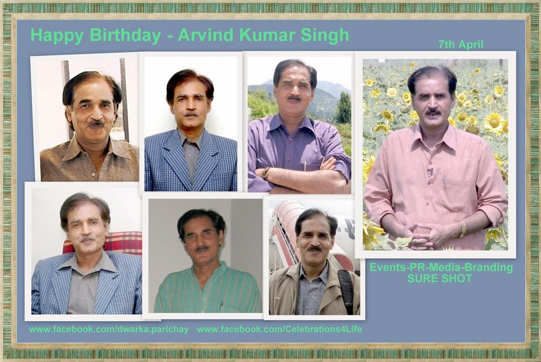 Happy Birthday Arvind Cake Image