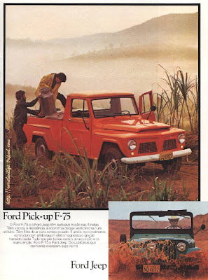 PICK UP FORD F 75