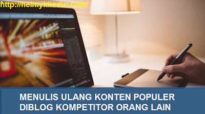 Mengetahui konten populer blog kompetitor