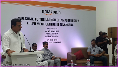 Amazon services in telangana launching soon : KTR