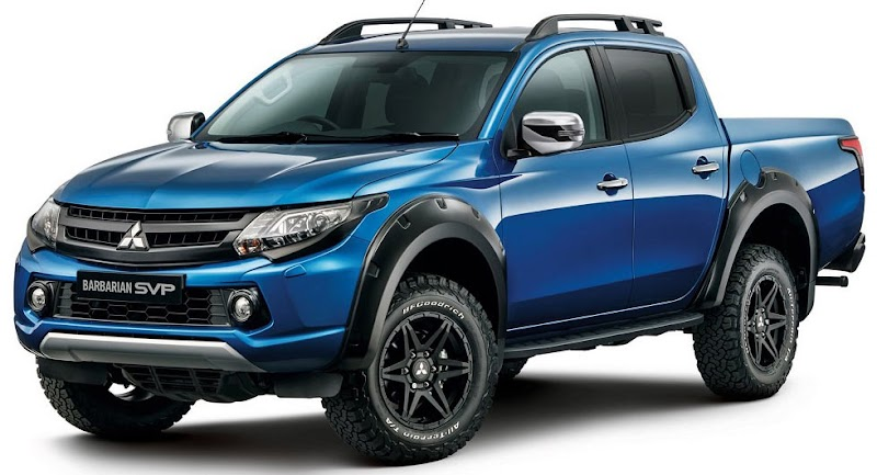 Mitsubishi Inaugurates Special Vehicle Projects With L200 Barbarian SVP