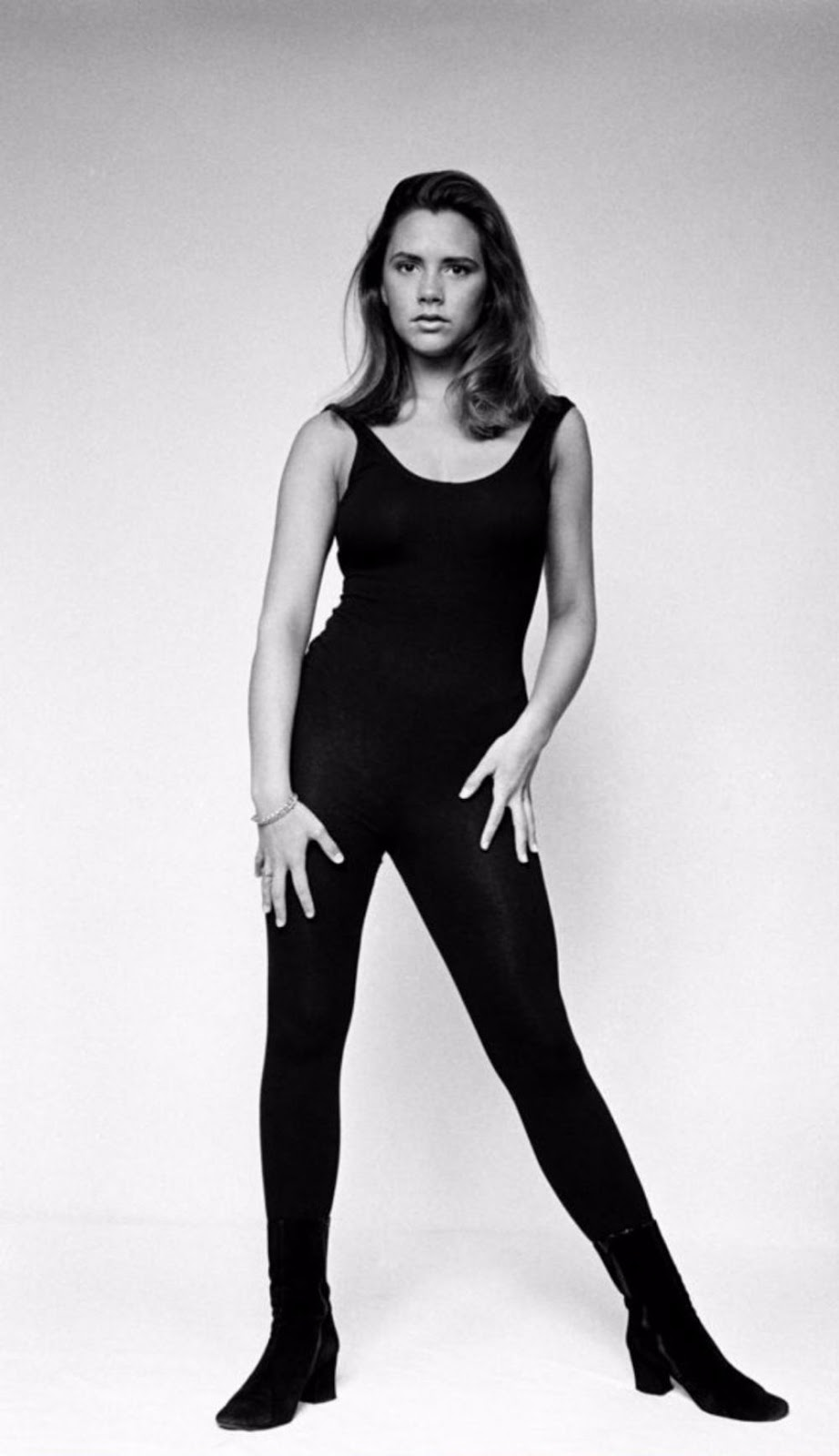 Rare Photographs Of Victoria Beckham From A 1992