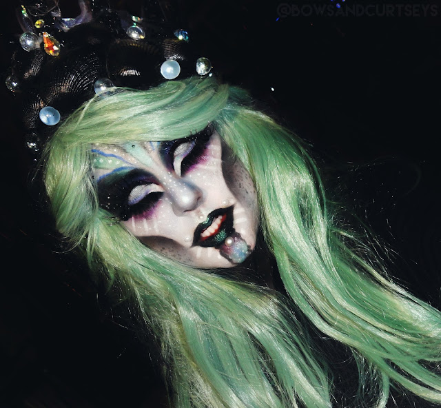 Queen of the Intergalactic Deep Sea - Halloween Look