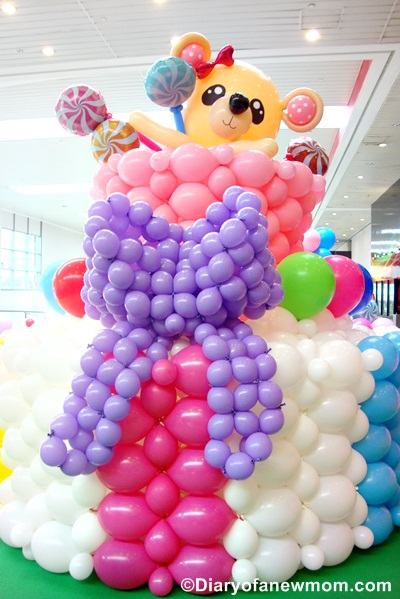 Balloon Candyland at AMK Hub