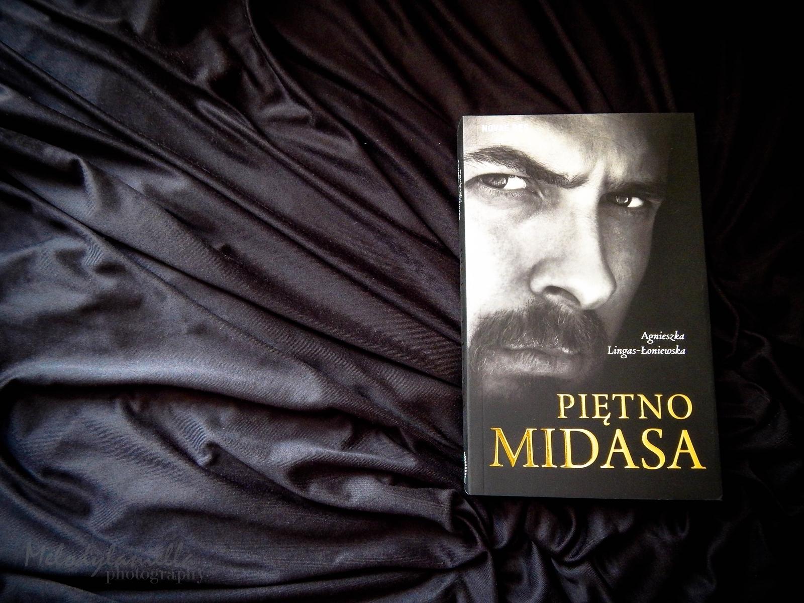 piętno midasa książka agnieszka lingas-łoniewska wydawnictwo novae res recenzja melodylaniella book books