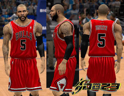 NBA 2K13 Chicago Bulls Away Jersey Patch