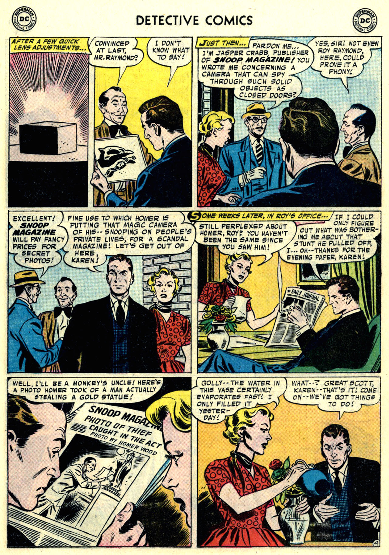 Read online Detective Comics (1937) comic -  Issue #246 - 21