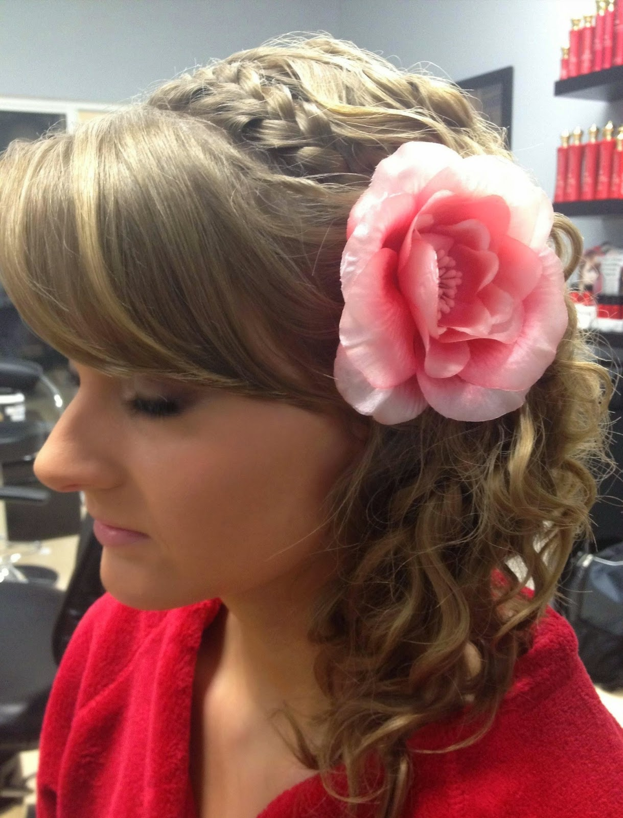Astounding 8 Stunning Prom Updos For Long Hair Latest Hair Styles Amp Colors Short Hairstyles Gunalazisus