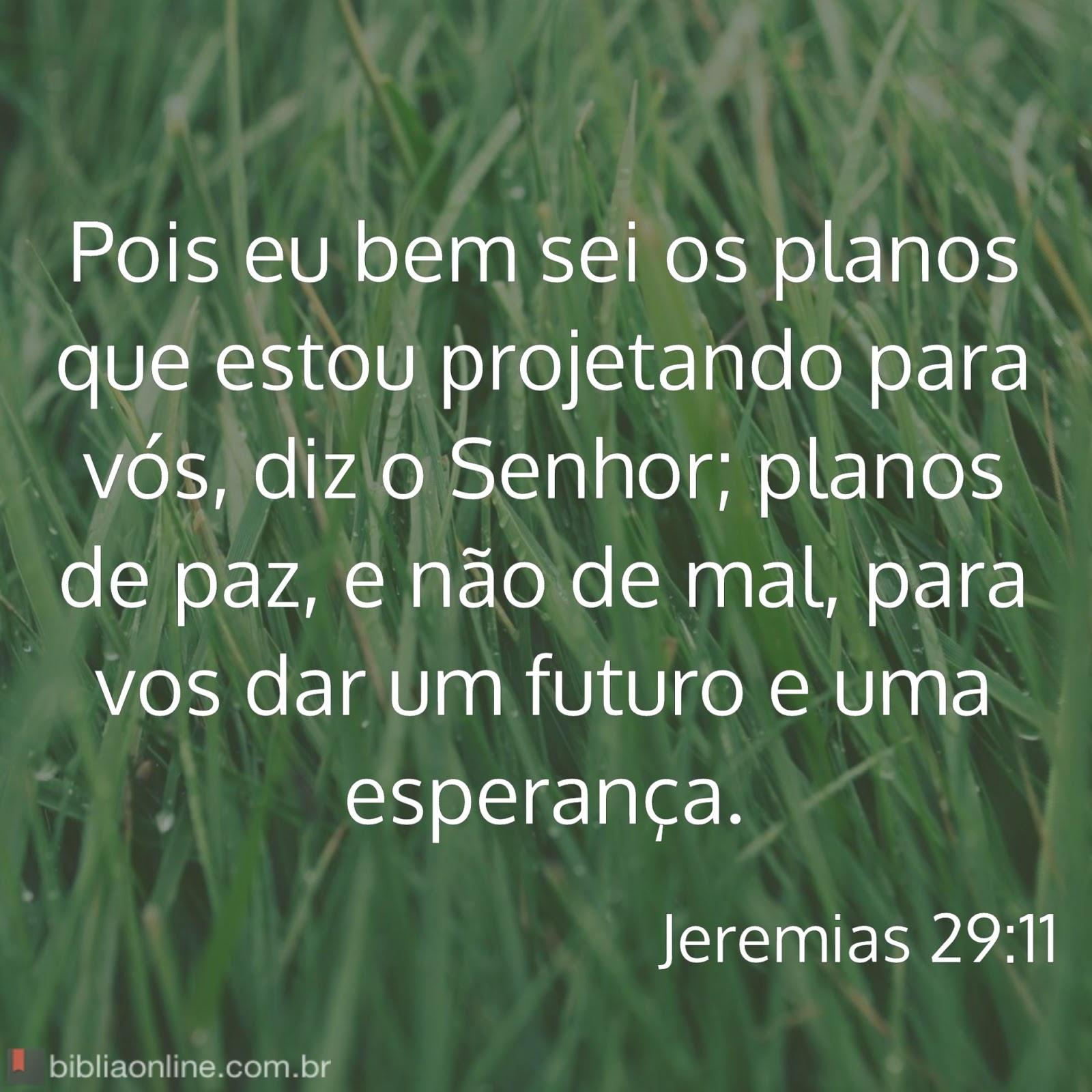 """Favoritos Blog do Smay: Versículos para Meditar: Jeremias 29:11 - """"Pois eu  SS27"""