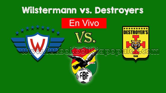 【En Vivo Online】Wilstermann vs. Destroyers - Torneo Clausura 2018