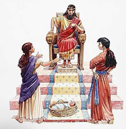 With Age Comes Wisdom: King Solomon and the baby