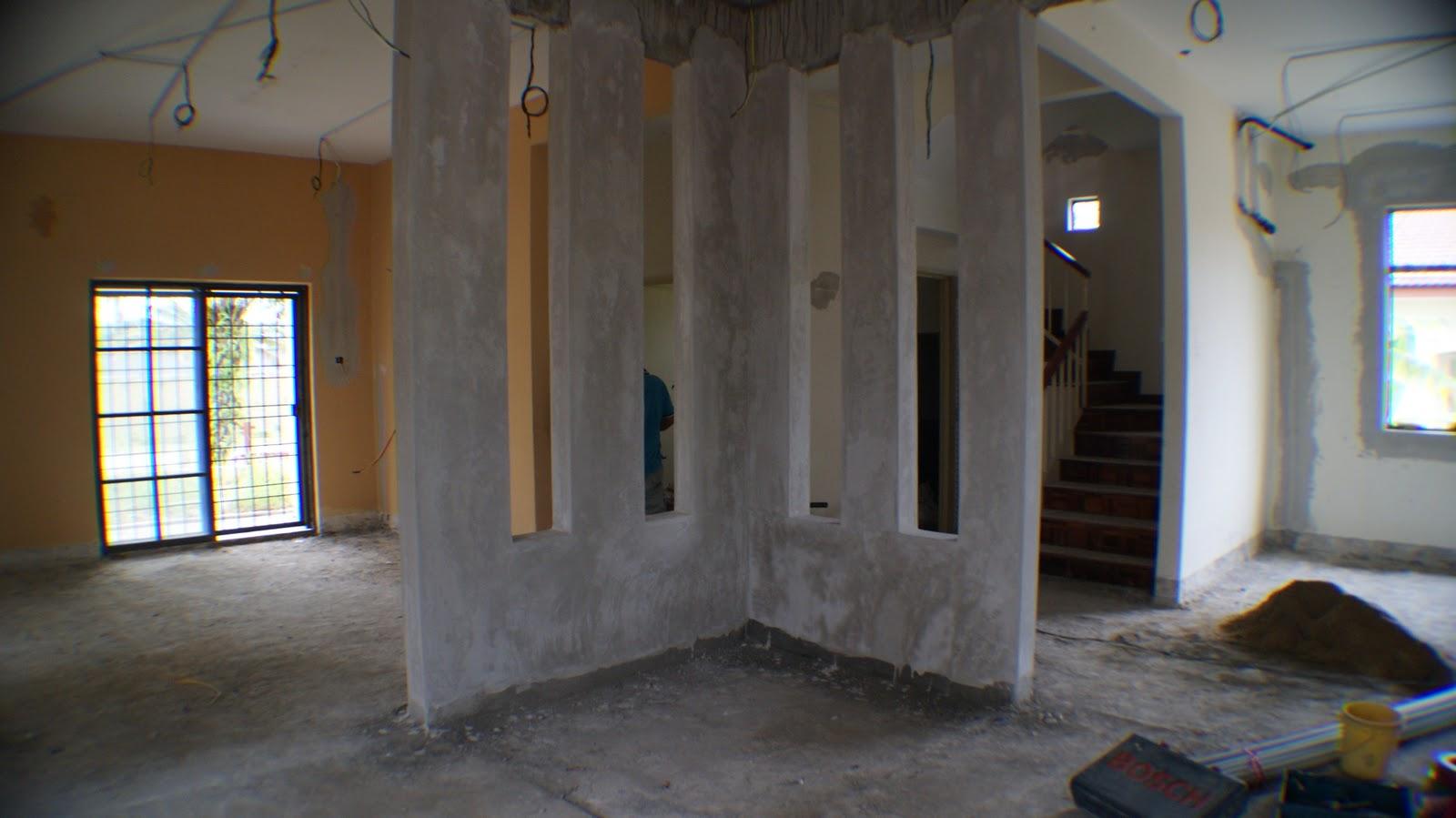 Ubahsuai Ruang Tamu Desainrumahid