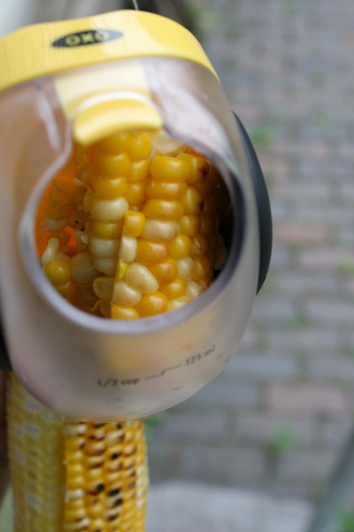 OXO's corn stripper