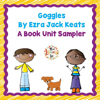 Problem solving is an important life skill, and Goggles by Ezra Jack Keats is a wonderful book to help with it. Stop by for a freebie to go with the book!