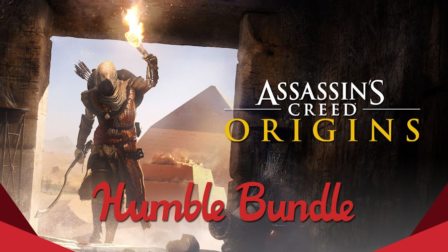 assassin's creed origins sale pc humble monthly bundle ubisoft