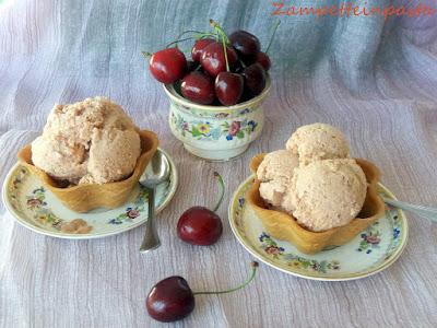 Gelato di ciliegia - Ricetta con le ciliegie