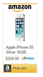 Amazon : iPhone 5s deals $259.00 iOS 7, upgradable to iOS 9.3