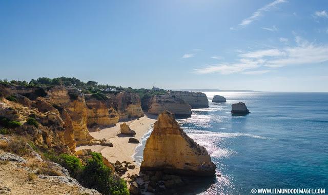 Las mejores playas del Algarve - Playa de Marinha