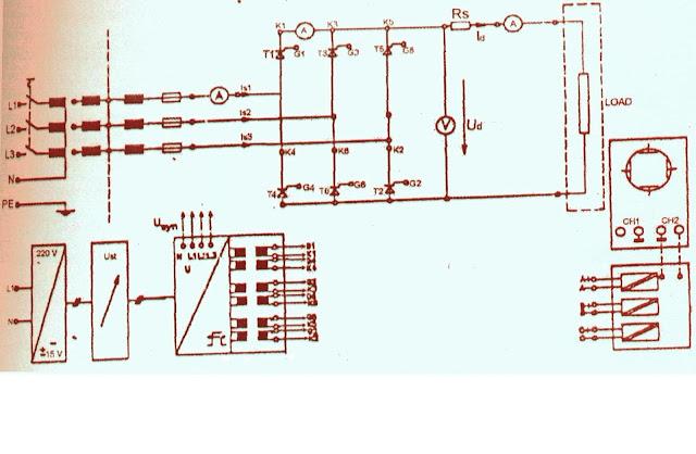 Penyearah SCR 3 Fasa