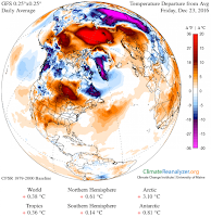 (Credit: Image obtained using Climate Reanalyzer, Climate Change Institute, University of Maine) Click to Enlarge.