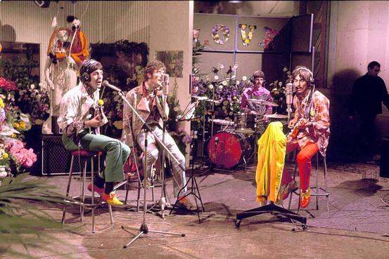 衛星中継テレビ番組「Our World」でビートルズが「All You Need Is Love」を披露してから50周年