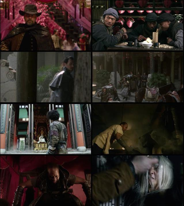 The Man with the Iron Fists 2012 Hindi Dual Audio BluRay 720p