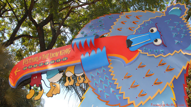Festival of The Lion King, Animal Kingdom, Focused on the Magic