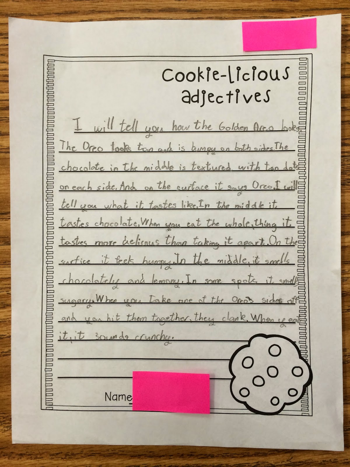descriptive essay on cookies 91 121 113 106 descriptive essay on cookies