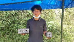 Inovasi, Markus Lempang Sulap Plastik jadi Batu Bata