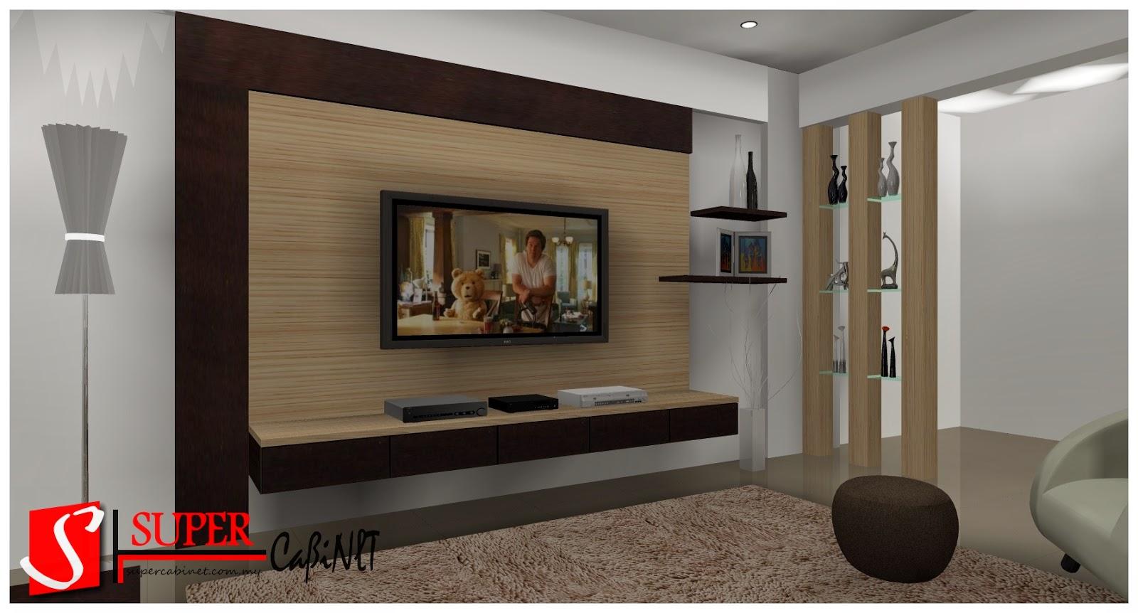 Tv Wall Cabinet Design Malaysia