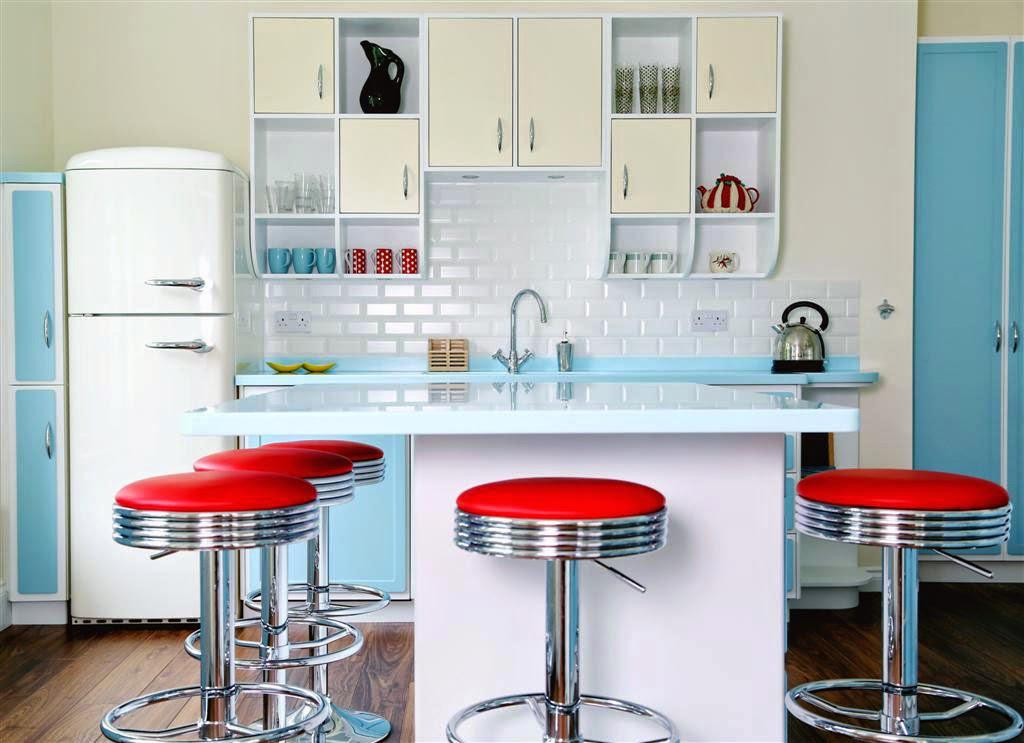Bellezza ambientaciones y dise o de interiores cocinas for Diseno de interiores vintage
