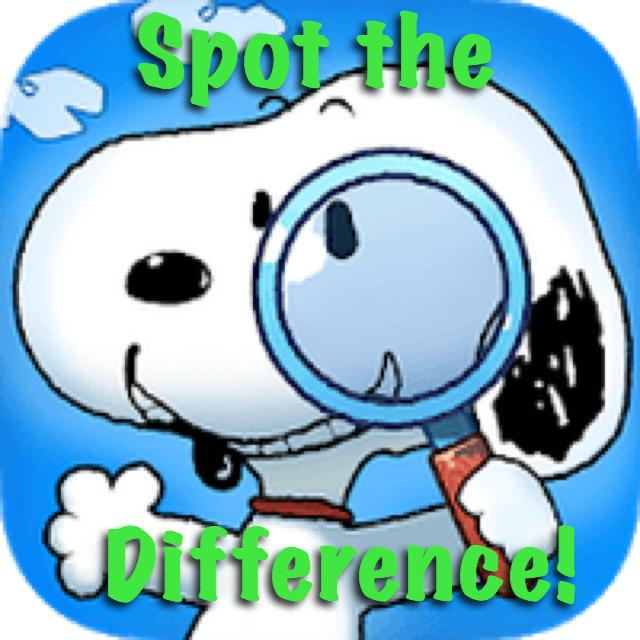 My Blog Series: Spot the Difference