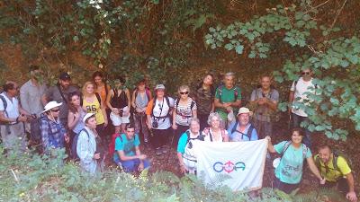 Ο Ελληνικός Ορειβατικός Σύνδεσμος Φολόης Αρχαίας Ολυμπίας στο Φαράγγι των Κενταύρων