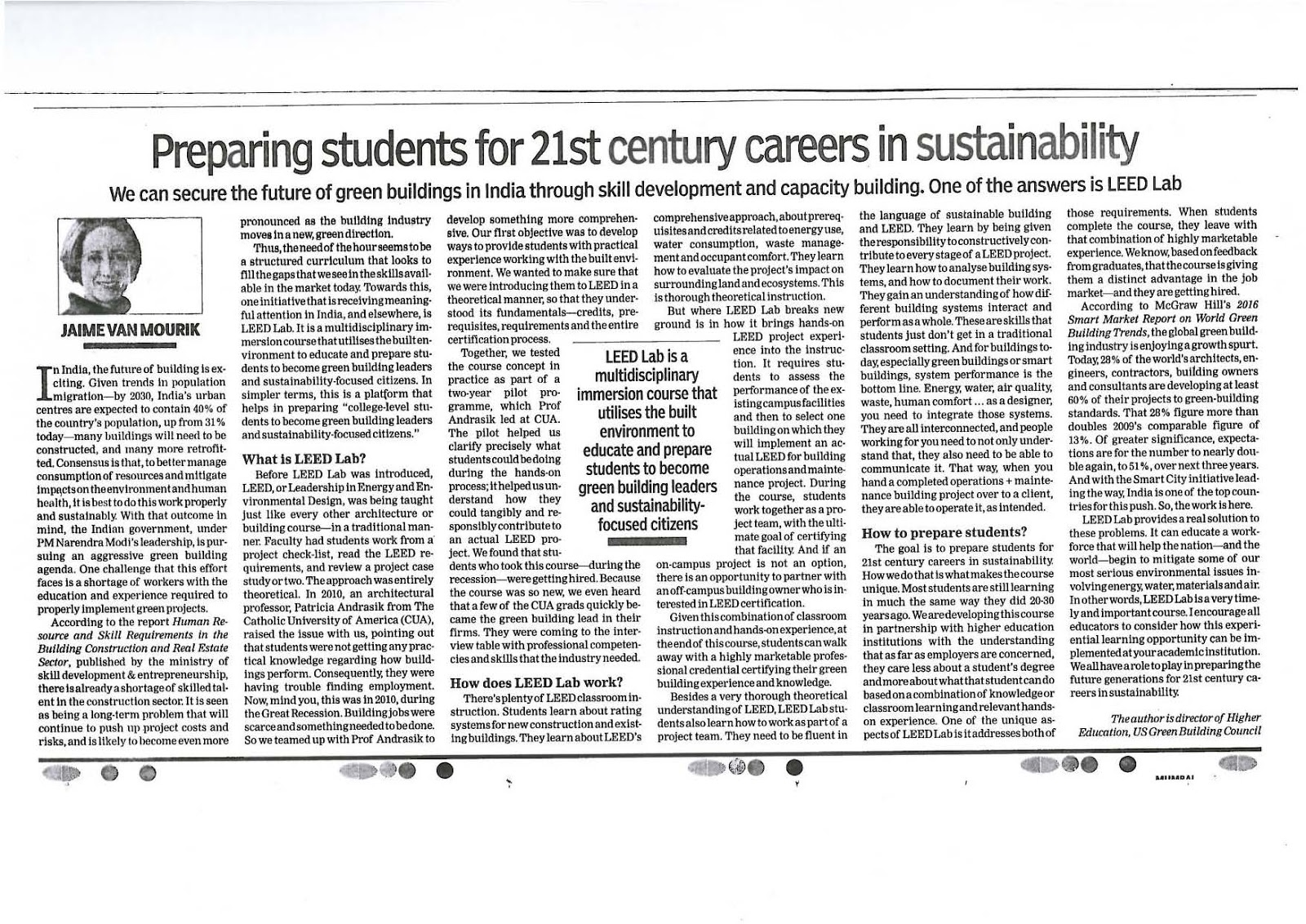 fyi librarian preparing students for st century careers in preparing students for 21st century careers in sustainability