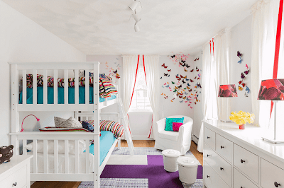Creative Shared Bedroom for Kids image 1