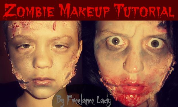Zombie makeup kit tutorial