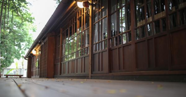 台中西區|台中文學館|台中文學公園|櫟舍文學餐廳|舊日本警察宿舍活化再利用