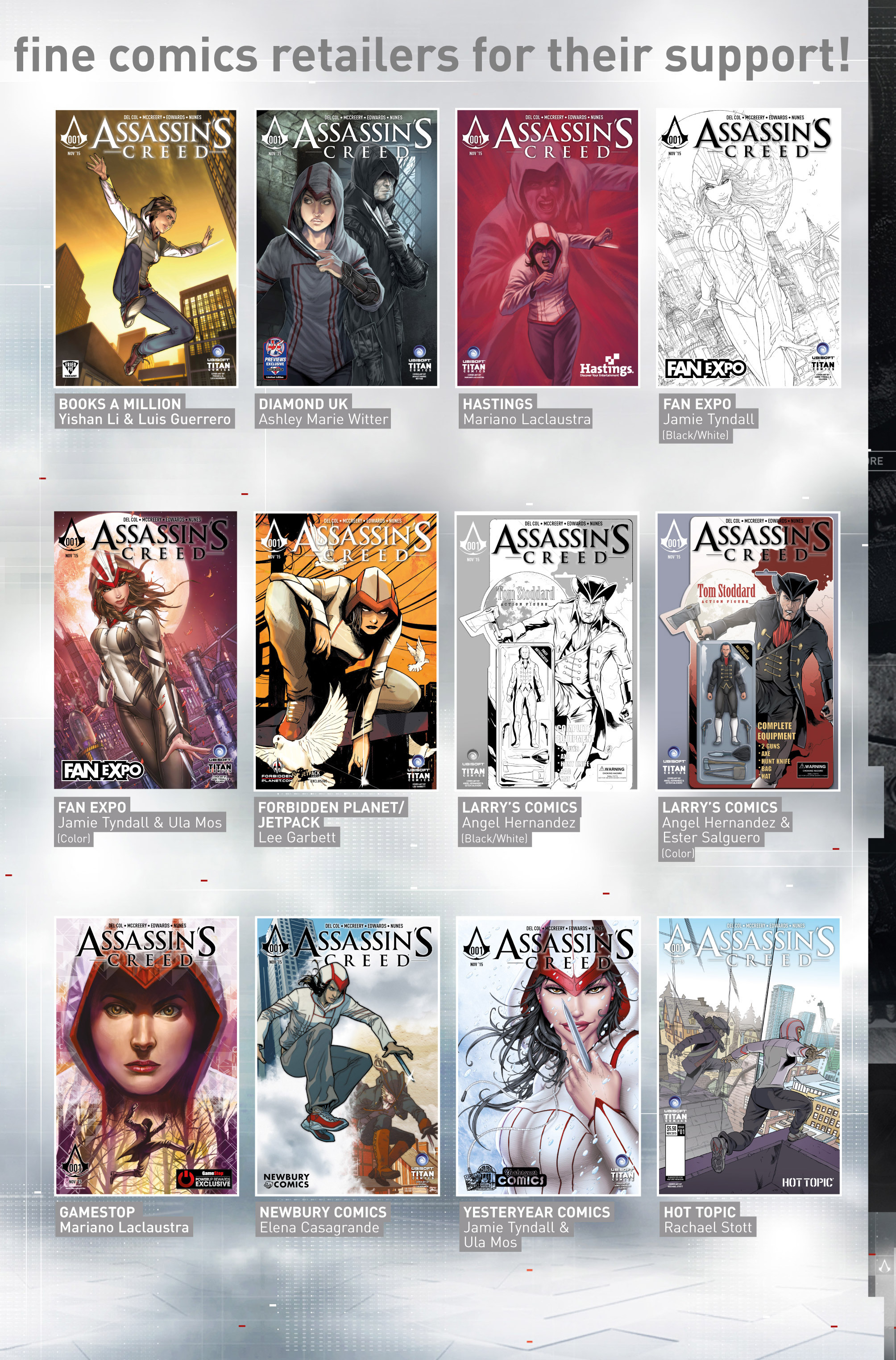 Read online Assassin's Creed (2015) comic -  Issue #1 - 32