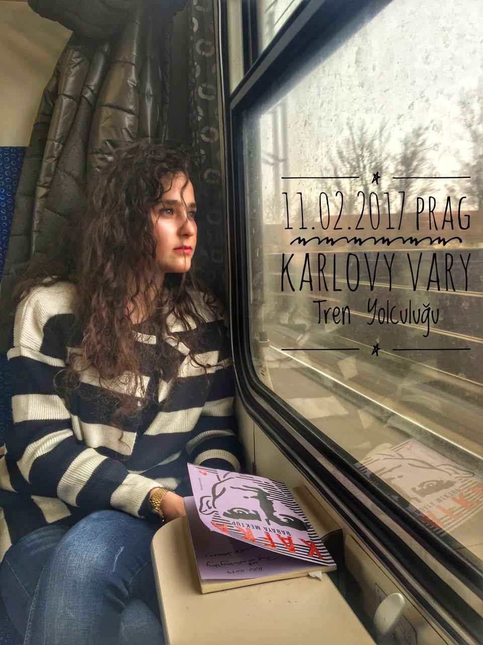 Prag Karlovy Vary Tren Yolculuğu
