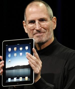 Foto de Steve Jobs con canas