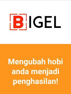 Nulis artikel dapat duwit dari Bigel.id