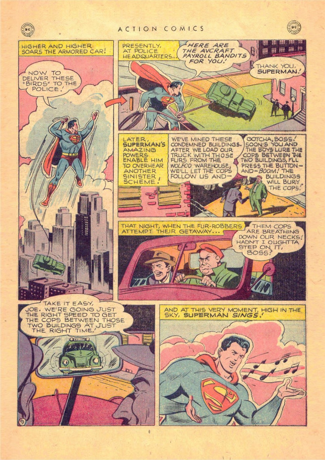 Read online Action Comics (1938) comic -  Issue #124 - 11