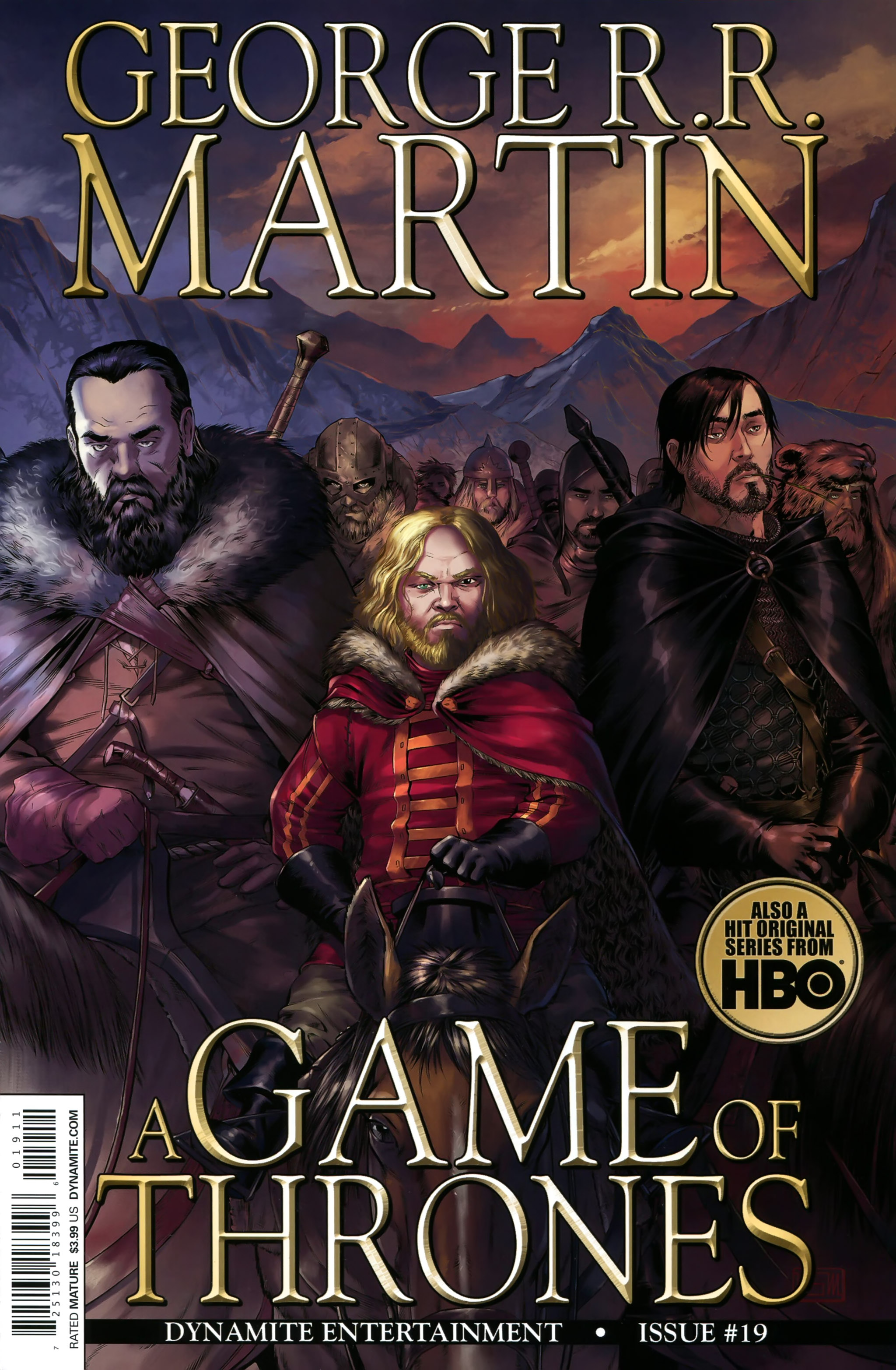 Read online A Game Of Thrones comic -  Issue #19 - 1