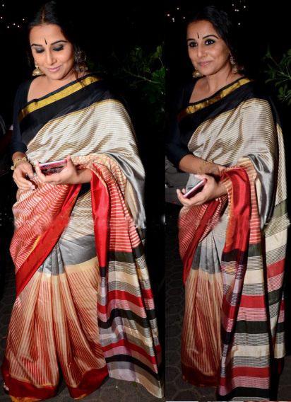 Vidya Balan inEnoya Silk Saree