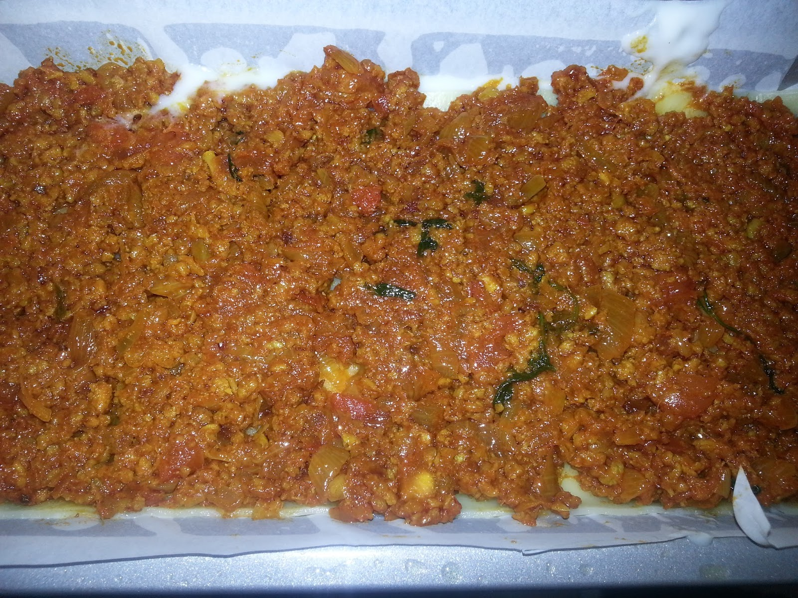 Lasagna Made With Minced Meat Bechamel Sauce And