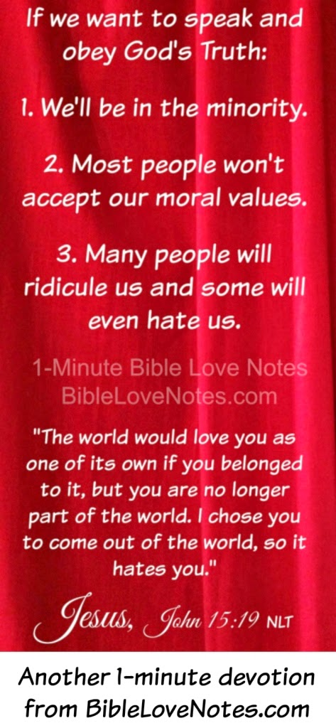 Speaking Truth isn't popular, Numbers 13-14, Colossians 4:6, God's Truth Not Popular