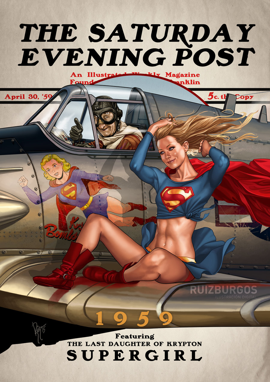 The Superhero Evening Post Series