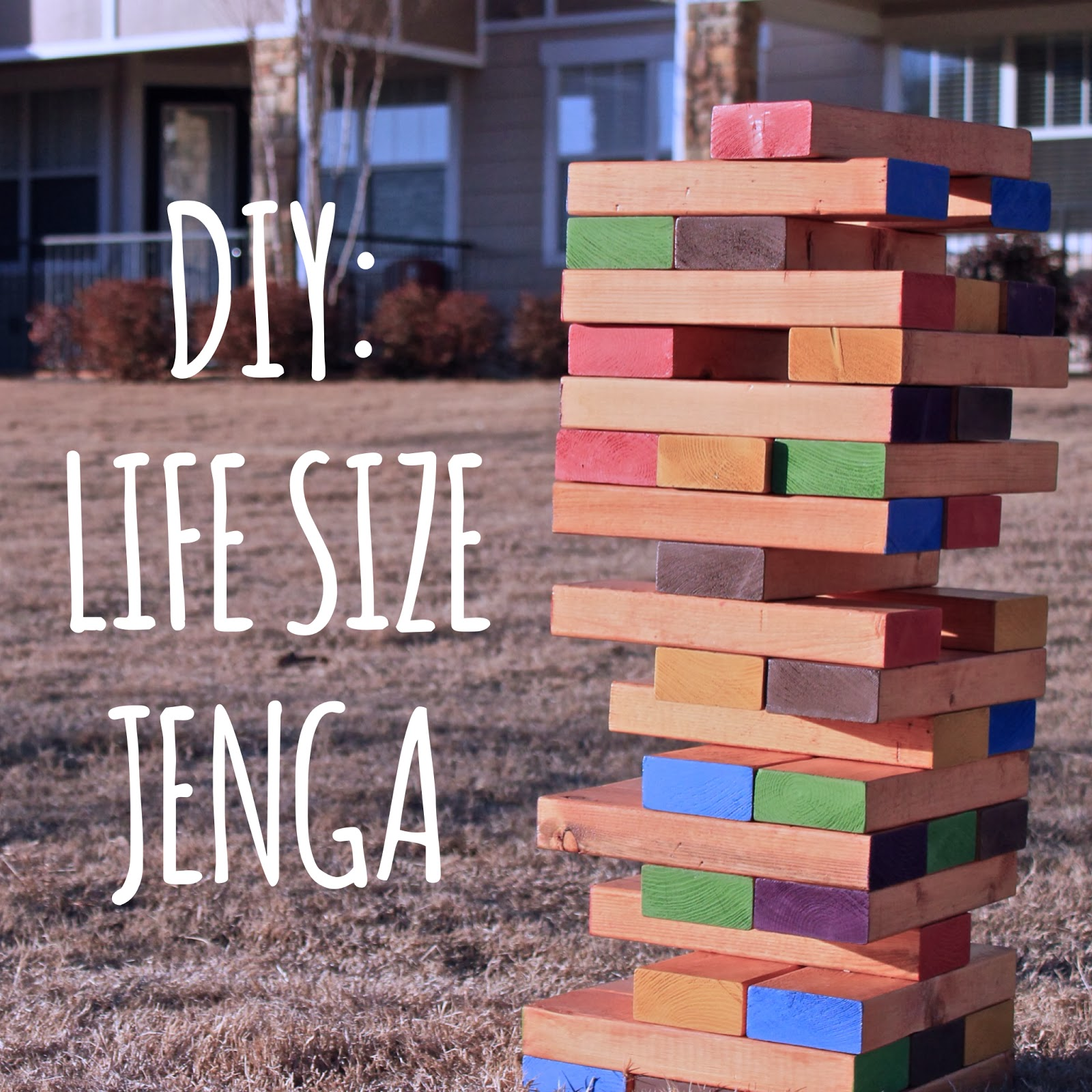 Life Size Jenga >> Diy Lifesize Jenga Hansen Heidelberg Diy Lifesize Jenga