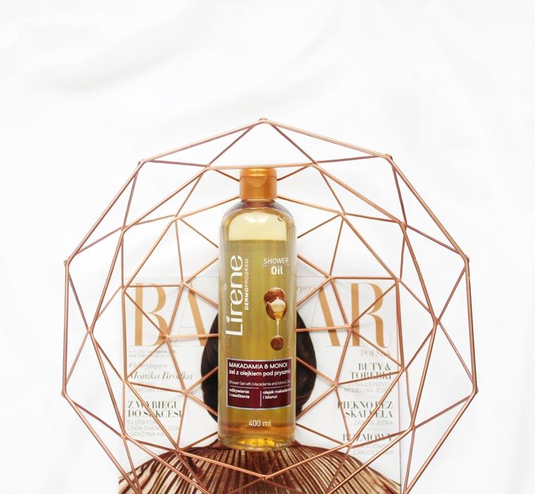 Kosmetyczne rozczarowania Lirene Shower Oil Żel pod prysznic z olejkiem Makadamia & Monoi