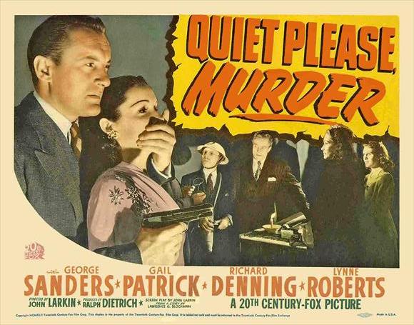 Quiet Please Murder